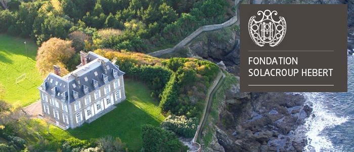 chateau hebert Dinard et logo fondation