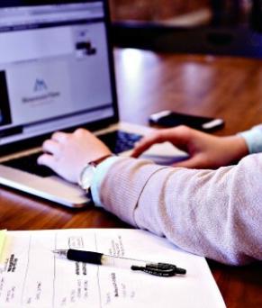laptop-student-internship-dublin-it-assistant