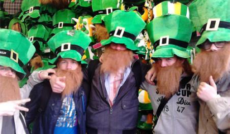 Etudiants en Irlande