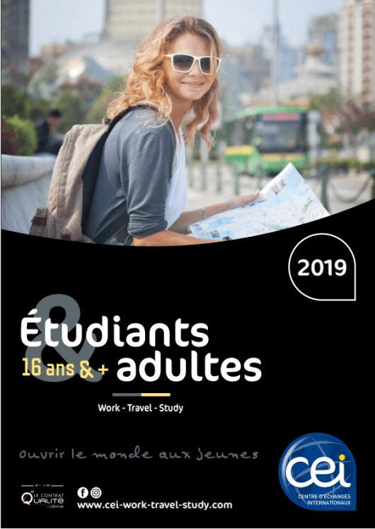 brochure etudiants adultes CEI 2019