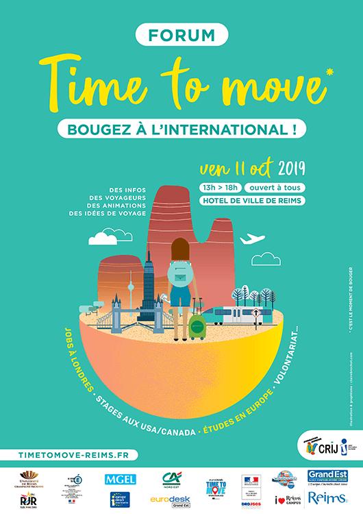 "Forum ""Time to Move"" - Vendredi 11 octobre à Reims"