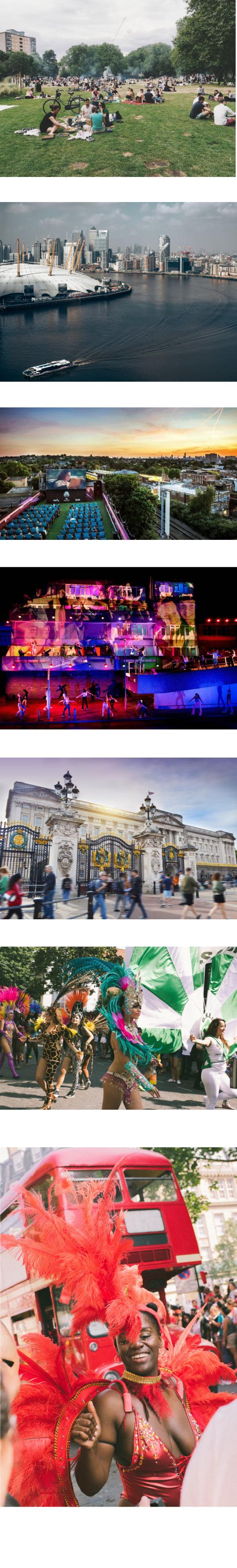 Découvrir Londres l'été