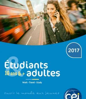 Brochure 2017 Travailler, étudier, voyage à l'étranger