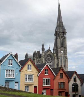 Ville de Cork en Irlande