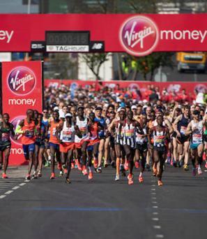 départ marathon de Londres